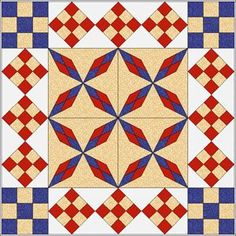 """Read more about this book. Not much is known about the Arkansas Traveler quilt pattern. It is a fairly old pattern, most likely dated by quilt historians through its name. """"Arkansas Traveler"""" was Electric Quilt, Blue Quilts, Arkansas, Google Images, Quilt Patterns, Mystery, This Book, Blanket, Travel"""