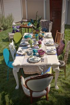 Mad Hatter Tea Party Theme