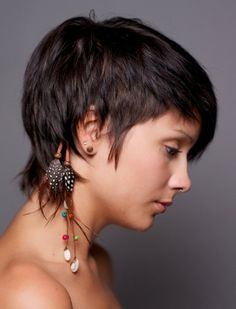 Straight Cropped Hairstyles: Very Short Haircuts for Women | Popular Haircuts