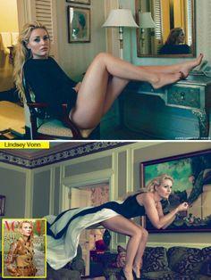 Lindsey Vonn | Lindsey Vonn In 'VOGUE' — Says She's 'Definitely Not Getting ...