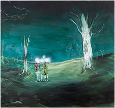 Anna Tuori: Hushabye Farewell, 2008 oil on board 123 x 130 cm Museum Of Contemporary Art, Contemporary Paintings, Arts Award, Through The Looking Glass, End Of The World, Art Festival, Impressionism, Finland, Art Museum