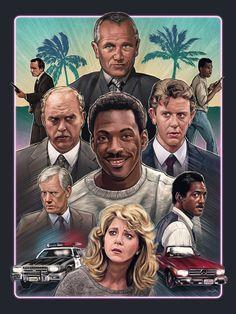 Sam Gilbey's Beverly Hills Cop poster design