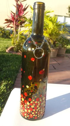 Bubbling Recycled Wine Bottle Incense Burner / by CreationsByTia