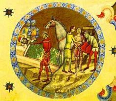 Abbot Villermus of Szekszárd warns Duke Géza (from the Illuminated Chronicle) Age Of King, Ancestry, Hungary, History, Duke, Painting, Art, Craft Art, Historia