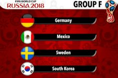 World Cup 2018 - Group F