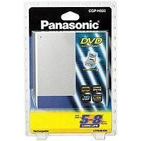Panasonic CGR-H502A Two Hour Battery for Portable DVD Players by Panasonic. $31.95. Battery pack made for the Panasonic DVD%2DLV70 portable DVD player%2E