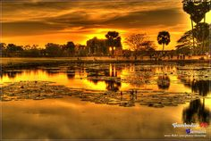 HDR :: Angkor Wat by Clementqc, via Flickr
