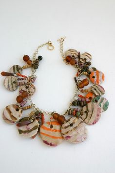 One of a Kind Handcrafted Ceramic Art Jewelry by Rosa Silverman
