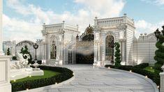 Best exterior designer US - luxury interior design company in California Luxury Homes Exterior, Luxury Modern Homes, Luxury Homes Dream Houses, Exterior Design, Classic House Exterior, Classic House Design, Dream House Exterior, Modern Exterior, Interior Design Shows