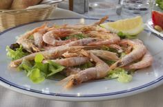 Lunch or dinner at the beach? These salted shrimps are always a good idea.