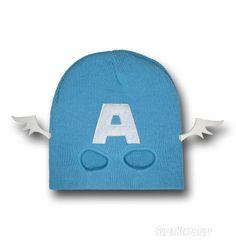 Captain America Mask Costume Beanie