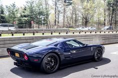 Awesome Blue on Black Ford GT