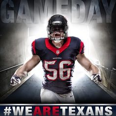 """It's GAMEDAY. Monday Night Football kicks off at 7:30 p.m. on ESPN. #GoTexans #BeatTheSteelers"""