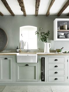 We're Calling It: The Top Kitchen Paint Colors for 2018