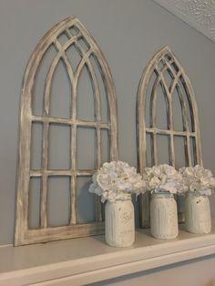 Farmhouse arched frames