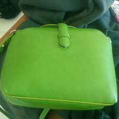 For Sale: Zara green clutch for $40