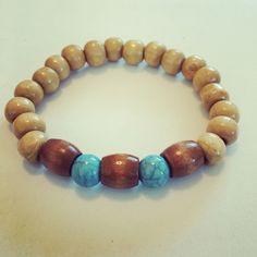 #zoecreations Siguenos instagram & facebook. #bracelets #menbracelets #woodbracelets #jewerly #pr #handmaden #blue #brown