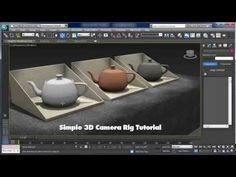 Simple Camera Rig Tutorial for 3ds max - YouTube