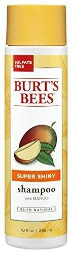 Burt's Bees Super Shiny Shampoo Mango Scent 10 Ounces (Pack of 3)