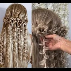 Hairdo For Long Hair, Cute Hairstyles For Medium Hair, Bride Hairstyles, Headband Hairstyles, Medium Hair Styles, Braided Hairstyles Tutorials, Front Hair Styles, Headband Styles, Crazy Hair