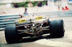 Gilles Villeneuve - Ferrari 126CK - 1981 Monaco GP