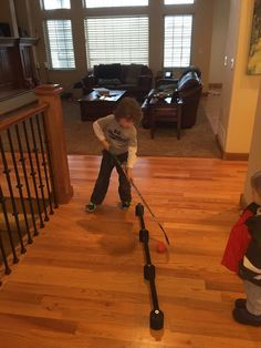 DIY Hockey Stick Handling Trainer : More Well I had about 15 minutes of spare time so i decided to do something productive. As you all know my son and his friends love to play hockey. They play on ice, in hallways, driveways, patios, hote… Hockey Drills, Hockey Tournaments, Hockey Goalie, Hockey Games, Hockey Players, Hockey Workouts, Youth Hockey, Hockey Mom, Field Hockey