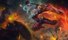 Images for news: Dragonblade Riven is a total badass in new League of Legends Lunar Revel splash art