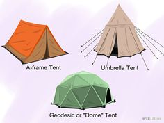How to Choose a Tent: 8 Steps (with Pictures) - wikiHow. Clean it: http://www.thriftyfun.com/tf/CleaningGroup/Fabric/Cleaning-a-Tent.html Make it comfy: http://www.wealthinformatics.com/2010/07/14/comfortable-tent-camping/