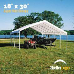 ShelterLogic x Super Max Canopy - 26767