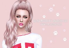 Anarchy-Cat: Alina Moore • Sims 4 Downloads