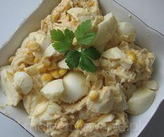 sałatka chrzanowa z jajkiem madziarzeszow