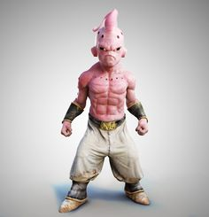 ArtStation - Dragon Ball Z Bubu , Sebastian Lautsch