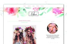 Hippie Boho Feminine Blog + Shop by Boutique Design Studio on @creativemarket