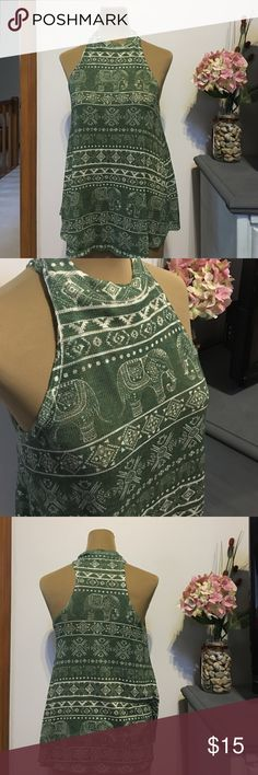NWOT tank NWOT tank. 94% Polyester 6% Spandex. Excellent condition!!! Size L. Never worn WINDSOR Tops Tank Tops