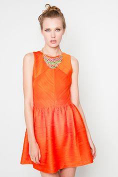 Vestido So Lady naranja - http://www.fashion-pills.com/vestido-so-lady-naranja-8195.html