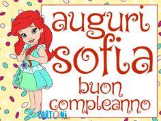 Auguri Di Buon Compleanno Per 9 Anni.9 Fantastiche Immagini Su Buon Compleanno Sofia Buon