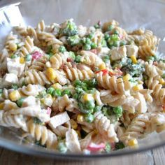Food N, Good Food, Food And Drink, Pasta Recipes, Salad Recipes, Dinner Recipes, Healthy Cooking, Healthy Recipes, Healthy Chicken Dinner