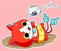 Whisper is probably crouched in the corner, terrified, like Jibanyan is some sort of tiger.