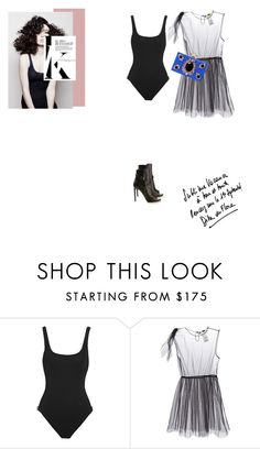 """""""Untitled #1167"""" by talita-roberto ❤ liked on Polyvore featuring Orlebar Brown, MSGM, Sonia Rykiel, Yves Saint Laurent and Angelo"""