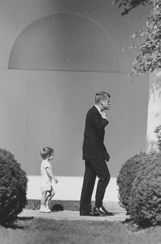 Rare pic of the Kennedy fellas