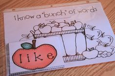 EXCELLENT collection of apple themed activities...