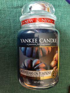 Yankee Candle Moonbeams on Pumpkins - Large Jar
