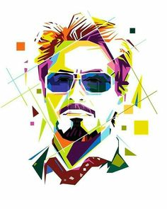 Tony Stark in WPAP by aryakuza on DeviantArt Abstract Faces, Abstract Portrait, Portrait Art, Iron Man Hd Wallpaper, Pop Art Wallpaper, Pop Art Illustration, Graphic Design Illustration, Marvel Drawings, Art Drawings