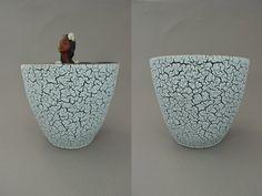 Vintage Keramik Übertopf / Dekor Cortina / Jasba | West German Pottery | 60er von ShabbRockRepublic auf Etsy
