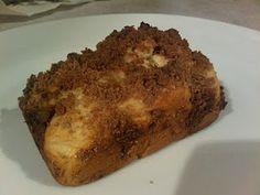Grain/Gluten-Free Vegan Banana Bread with Cinnamon Topping