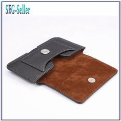 TUKE Luxury Cell Phone Belt Clip Holster Card Cover Case PU Leather Bag for Samsung Galaxy S4 S3 I9100 Cover for Iphone 6 SJ2011
