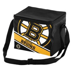 Forever Collectibles Boston Bruins Lunch Bag Insulated Cooler, Multicolor