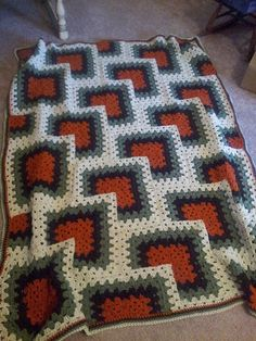 Ravelry: Project Gallery for Tiles Granny Afghan pattern by Darla J. Fanton