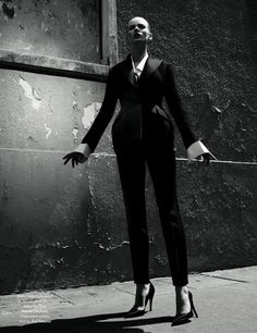 Jessica Stam and Anne Vyalitsyna by Willy Vanderperre for AnOther Fall 2012