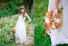 Bohemian Chic Garden Wedding  Amy and Stuart Photography